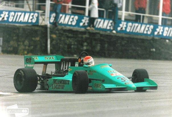 GDBA LOLA COSWORTH  MICHEL TROLLE 1er GP BELGIQUE 1987