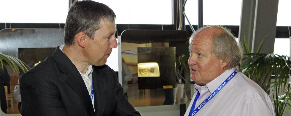 GILLES GAIGNAULT et Jean Pascal DAUCE de Renault Sports Photo Bernard BAKALIAN autonewsinfio