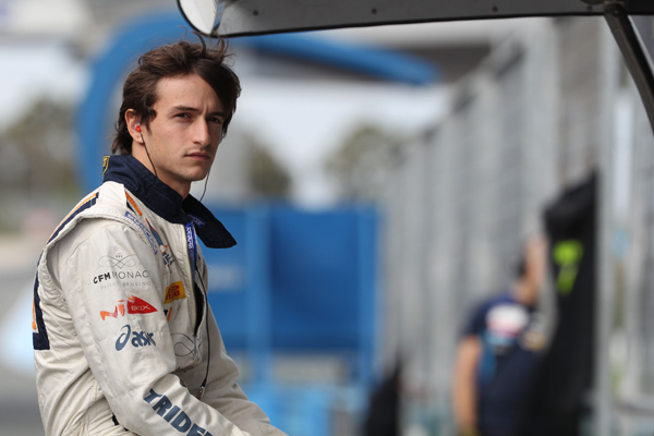 GP2 2012 tests Stephane RICHELMI  Photo Malcolm Griffiths GP2 series