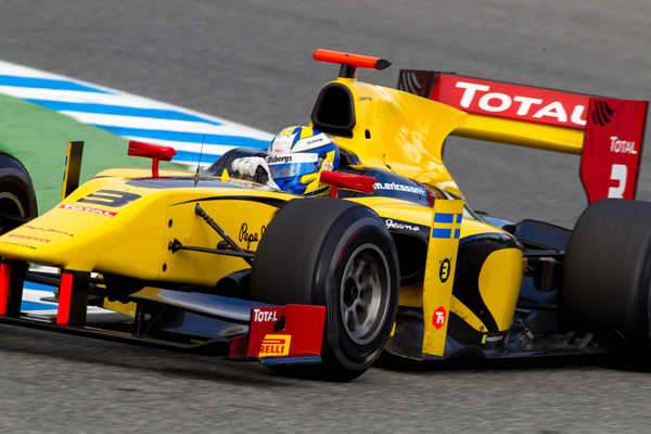 GP2 2012 tests avec DAMS ERICSSON  Photo Malcolm Griffiths GP2 series