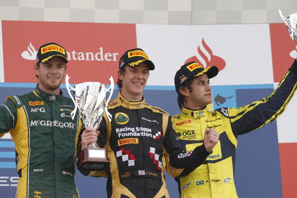 GP2 CALADO podium 2012