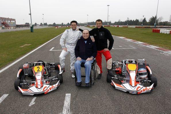 Grégory BAKIAN avec Philippe STREIFF et Franck LAGORCE.