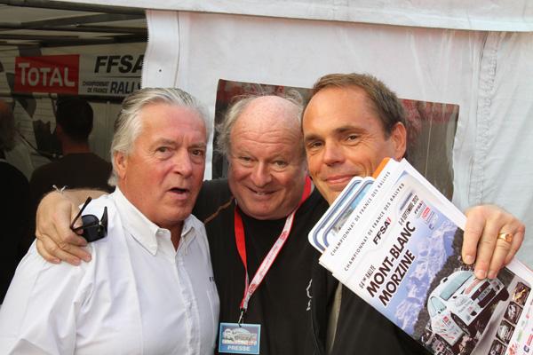 MONT BLANC 2012   Alain MAHE Gilles GAIGNAULT Olivier PIGNON PHOTO Gilles VITRY autonewsinfo