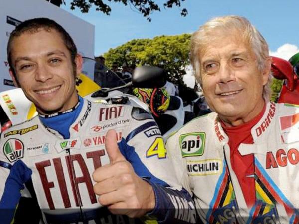 MOTO GP Valentino Rossi et le ROI AGO Photo MotoGP (1)