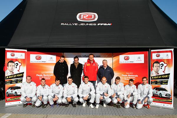 RALLYE JEUNES FINALE 2012 les concurrents Circuit de LEDENON Photo Gerard AURIOL pour autonewsinfo
