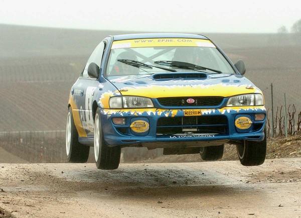 ROCHE 14 Sur Subaru Rallye des VINS DE CHAMPAGNE 2006