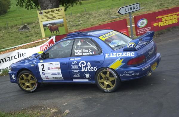 ROCHE 6 FINALE Coupe de France des rallyes MENDE 2007