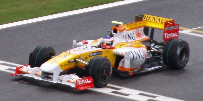 Romain  Grosjean GP SPA 2009 RENAULT F1 photo Bernard ASSET