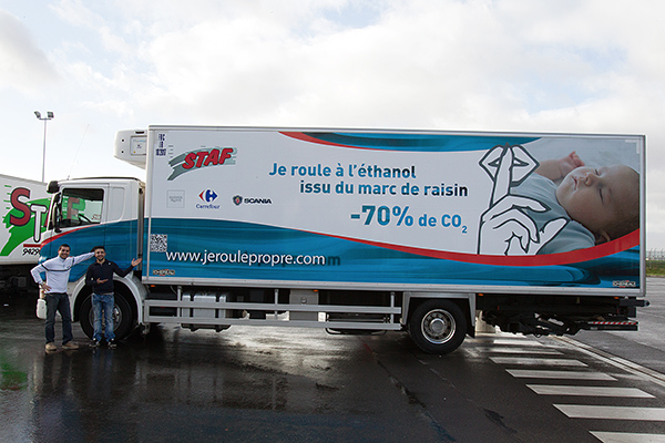 STAF Camion ethanol marc raisin Photo Gilles VITRY autonewsinfo