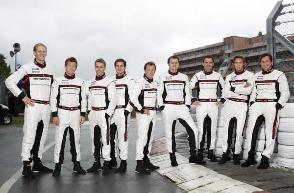 WEC 2013 les pilotes PORSCHE