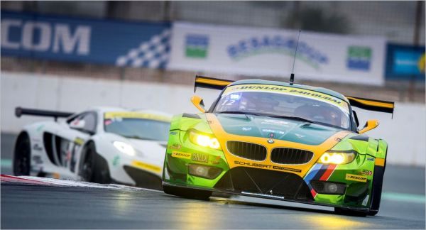 24 HEURES DUBAI 2013 BMW Z4 Team FALCON
