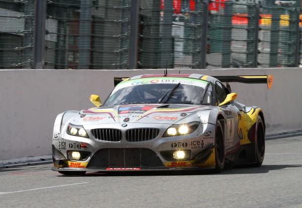 24 HEURES SPA 2012 La BMW terminant 4ème et brillemment pilotée par Maxime Martin-© Manfred GIET pour autonewsinfo