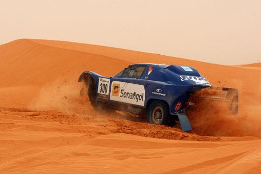 AFRICA RACE 2012 BUGGY JL SCHLESSER  dune mauritanienne