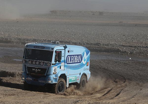 AFRICA RACE 2013 le MAN Elisabete Jacinto  etape 2 samedi 30 dec 2012 (1)