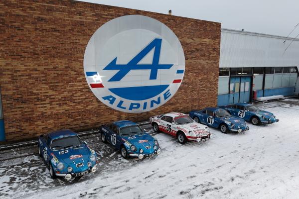 ALPINE MONTE CARLO HISTORIQUE 2013 Presentation du Team A DIEPPE 19 Janvier photo Marc CANNONE pour autonewsinfo