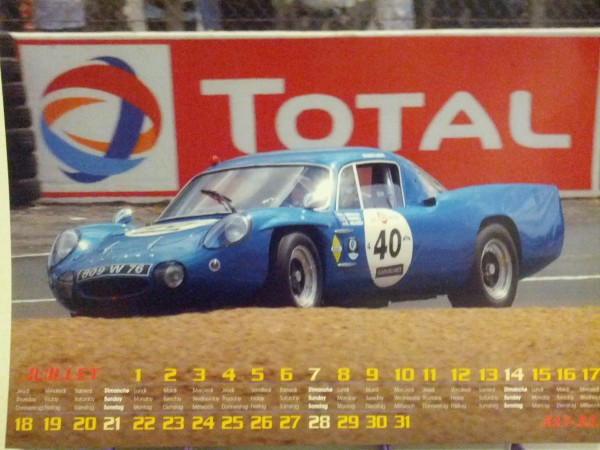 APINE 2013 Calendrier photo Francois HAASE Alpine M63