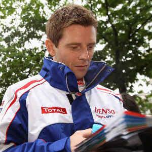Anthony Davidson aux 24 H du Mans