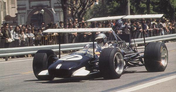 Brabham Piers Courage 1969 GP Espagne