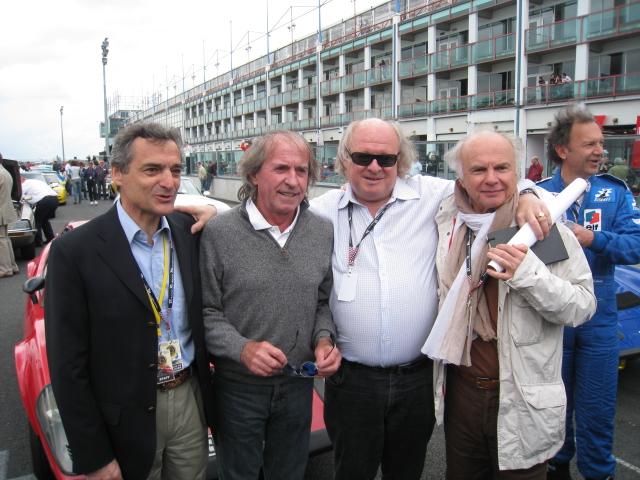 CLASSIC DAYS Serge Saulnier Jacques Laffite Gilles Gaignault et Jean Pierre Paoli