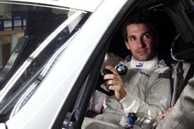 DTM 2013 BMW TIMO GLOCK portrair cockpit
