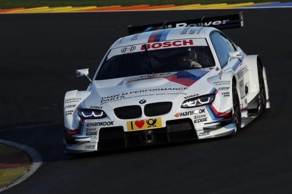 DTM 2013 BMW Test TIMO GLOCK 24 janvier a VALENCE