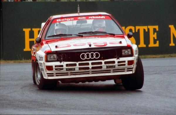 DUEZ Audi Quattro Konrad Schmidt-Ypres 1983 © Manfred GIET