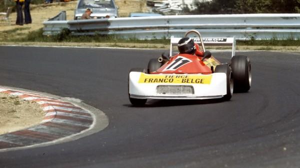 DUEZ Nürburgring Chpt d'Europe F3 Ralt 1976© Manfred GIET
