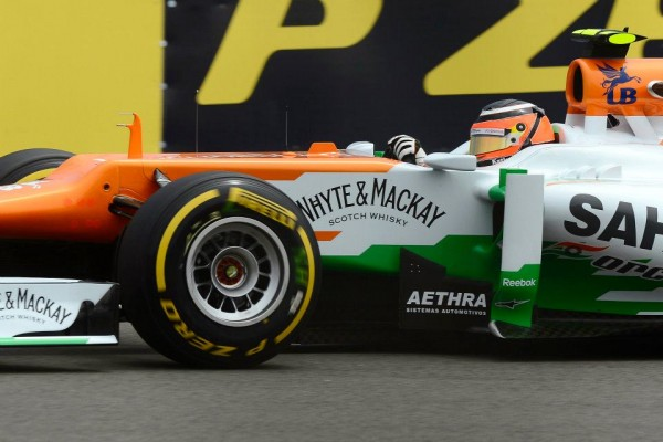 F1 2012 FORCE INDIA NICO HULKENBERG PIRELLI