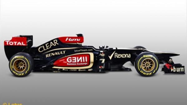 F1 LOTUS RENAULT 2013 Presetatio Enstone 28 Janvier profil