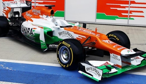 FORCE INDIA 2012 Profil