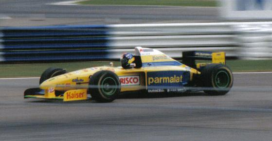 FORTI CORSE PEDRO  DINIZ BRITISH GP 1995