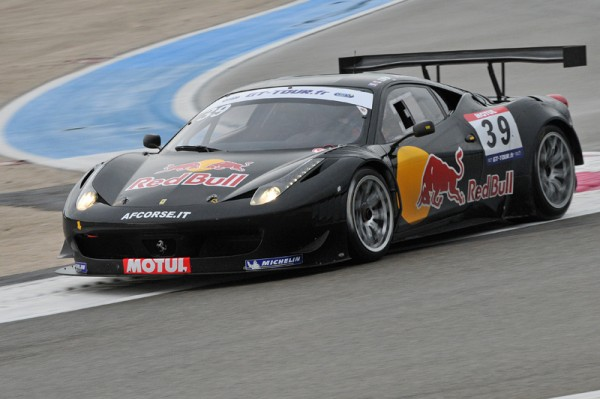 GT TOUR PAUL RICARD 2011 F458 LOEB Photo Raymond PAPANTI pour autonewsinfo