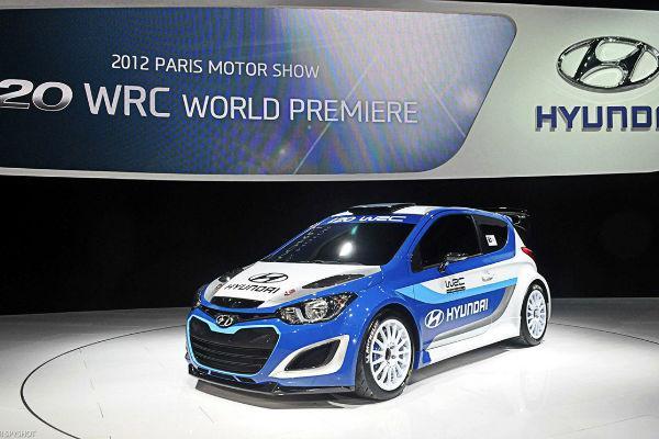 HYUNDAI WRC Presentation MONDIAL AUTO PARIS Sept 2012