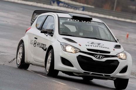HYUNDAI WRC Test decembre 2012