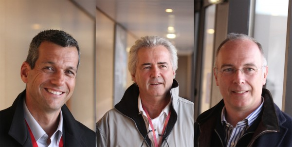 Henri Louis MAUNOIR avec Stephane CLAIR et Jacques BIANCHI du Circuit Paul Ricard photo Gilles VITRY autonewsinfo