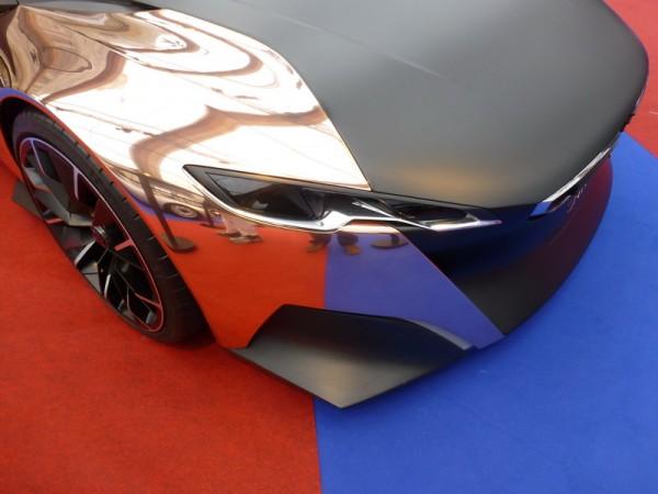 INVALIDES SALON CONCEPT CAR 2013 Photo Olivier THIBAUD La Peugeot Onyx
