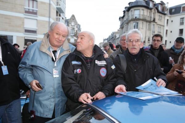 MONTE CARLO HISTORIQUE 2013 JEAN CLAUDE ANDRUET et Gilles GAIGNAULT Depart Reims dimanche 27 janvier
