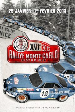 MONTE CARLO HISTORIQUE 2013 affiche