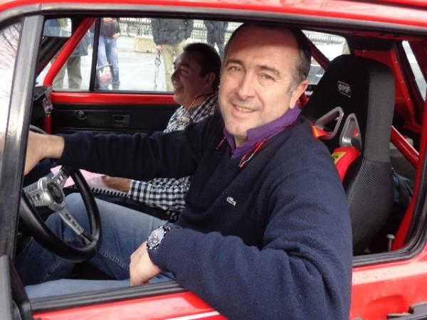 MONTE CARLO HISTORIQUE 2013  le Président Conseil General de la Drome Vice Président SENAT Didier GUILLAUME GOLF GTI Photo autonewsinfo
