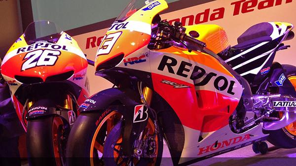 MOTO GP 2013 Bapteme TEAM HONDA REPSOL MADRID (1)