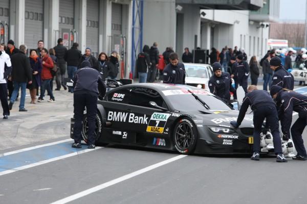 Maxime MARTIN pourra tester  et développer les voitures du DTM comme ici celle du Champion en titre Bruno SPENGLER © Manfred GIET pour autonewsinfo