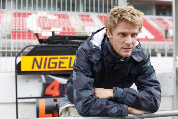 NIGEL MELKER GP2 portrait