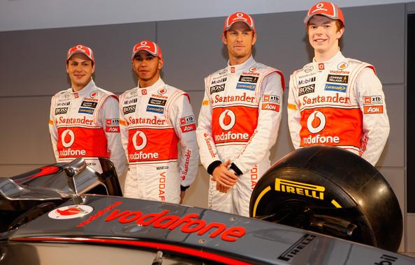 Oliver Turvey Présentation Team McLaren F1