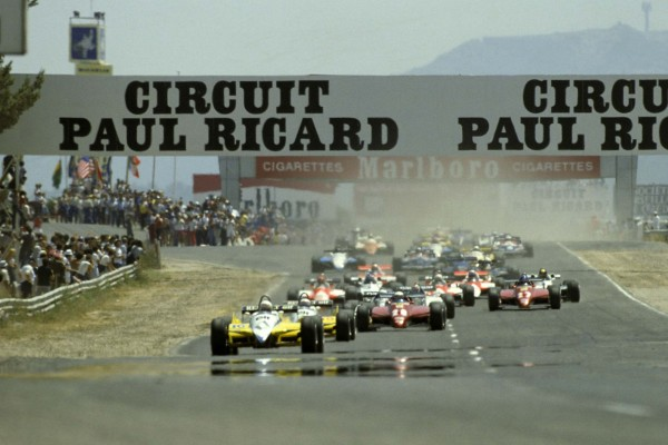 FRENCH FORMULA 1 GRAND PRIX 1982