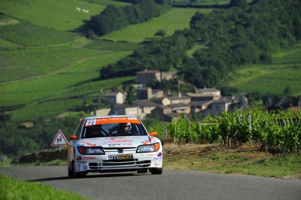 AUTO - RALLYE DES VINS DE MACON 2012