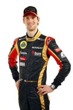 ROMAIN GROSJEAN Portrait 2013  Presentation Team LOTUS RENAULT 2013 28 janvier