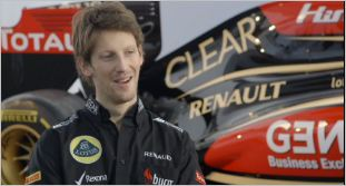 ROMAIN GROSJEAN Presentation Team LOTUS RENAULT 2013 28 janvier