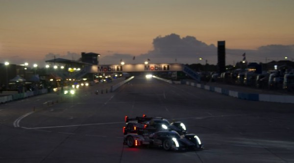 SEBRING 2012 la nuit tombe sur les audi de tetePhoto ROLEX - Stephan COOPER