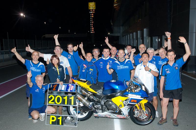 SERT DOHA 2011 équipe SERT Championne du Monde d'endurance 2011 photo Picard autonewsinfo