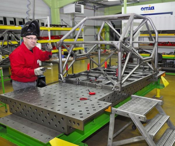 TORK 11 Le spécialiste chassis de la maison  Photo A Monnot autopnewsinfo